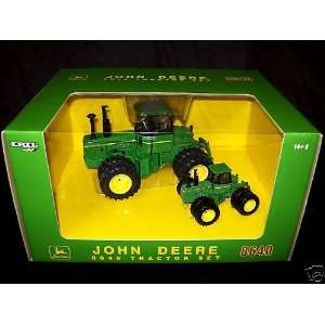 John Deere 8640 Plow City Set 1/32 1/64 Toys & Games