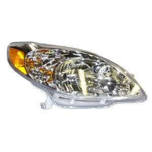 OE Replacement Toyota Matrix Passenger Side Headlight