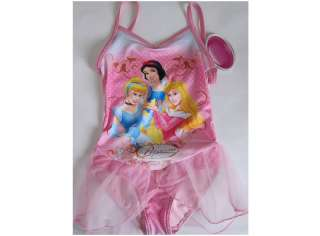 New Disney Princess Tutu Swimsuits Leotard Ballet 1 4T