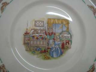 ROYAL DOULTON Bunnykins CHILDS SET Bowl/Plate/Cup MINT