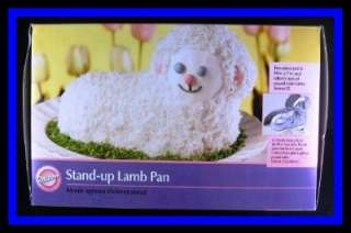Wilton **STAND UP LAMB** 2006 Cake Pan #2010 GUC