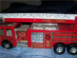 Metal Tonka Water Cannon Fire Truck Nice Shiny Paint No Rust