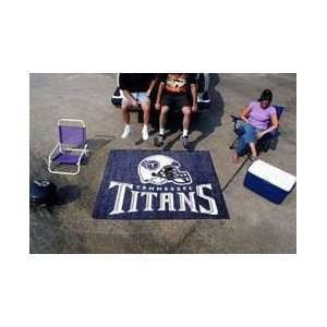 NFL TENNESSEE TITANS TAILGATE MAT / AREA RUG  Sports
