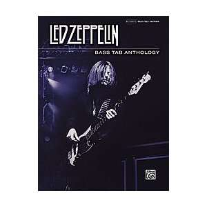 Alfred Led Zeppelin   Bass Tab Anthology Book Musical