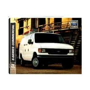 2004 FORD COMMERCIAL VEHICLES Sales Brochure Book