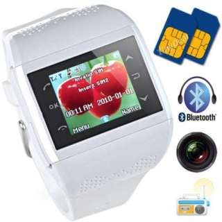 Touch screen Watch Cell Phone Dual SIM Camera /4 Q2