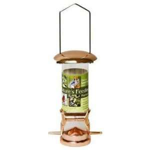 Blue Ribbon Deluxe Wild Bird Seed Feeder Copper Small