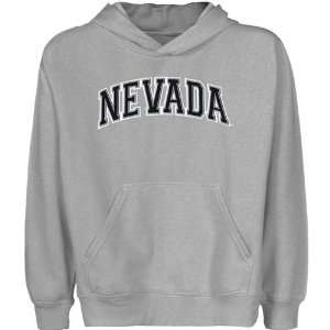 Nevada Wolf Pack Youth Houndstooth Arch Applique Pullover