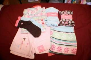 NWT Sz 12 Gymboree WINTER BALLERINA 6pc Lot Cord Jeans Skirt Leggings