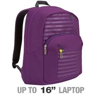 Case Logic BTSB 116 pu Laptop Backpack   Fits Notebook PCs up to 16 at
