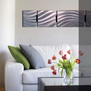 Modern Abstract Metal Wall Art Painting Sculpture Decor