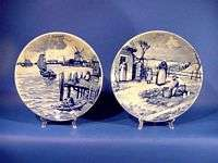 d626 Complete set of 12 Royal Delft Month Wall Plates