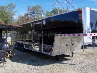 32ft gooseneck car hauler enclosed motorcycle cargo trailer NEW 24ft