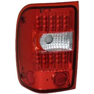 Anzo USA 311105 Ford Ranger Red/Clear G2 LED Tail Light Assembly