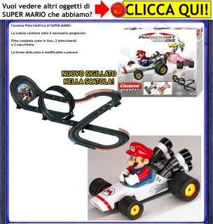 PISTA Super Mario Bros Kart Galaxy 2 CARRERA GO wii DS