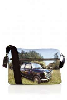 Paul Smith Accessories  Mini Cooper Reflection Flight Bag by Paul