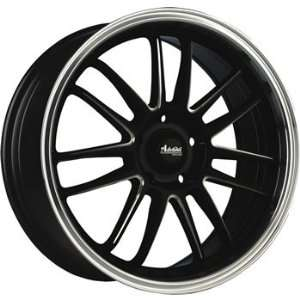 Advanti Racing Stilo 16x7 Black Wheel / Rim 5x100 & 5x4.5 with a 40mm