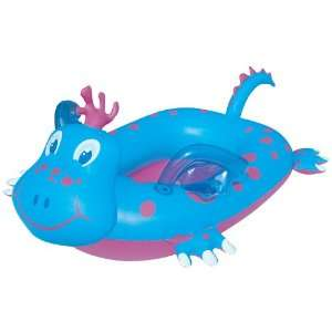 Friendly Dragon Ride in Pool Inflatable Boat   Blue