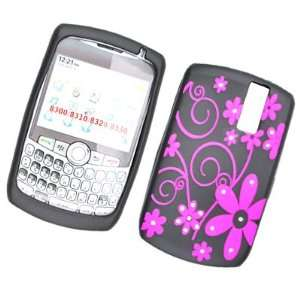 RHINESTONE SOFT SILICONE SKIN GEL COVER CASE FOR BLACKBERRY CURVE 8300