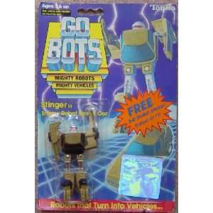 Stinger from Go Bots 1985 Series Action Figure Toys & Games