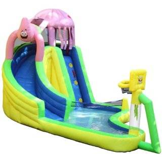 Moonwalk 15 Foot Water Slide Inflatable Bounce House