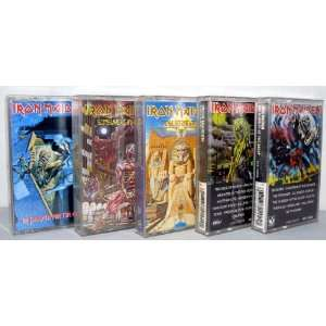 Iron Maiden Masters of Metal Power Series   Set of 5 Audio Cassettes