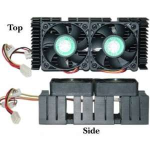 CPU Cooler for AMD K7 & Pentium II (Dual Fan)