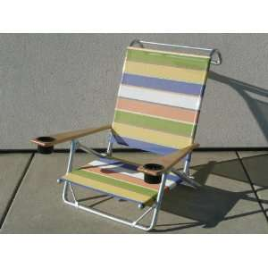 Mini Sun Chaise with Cup Holders Parfait Mesh  Kitchen