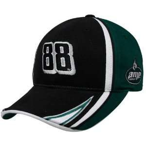 Dale Earnhardt Jr. Black Green Amp Adjustable Hat
