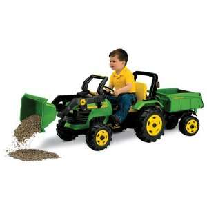 Pedal Tractor with Loader and Wagon Toys & Games