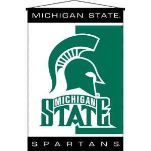 NCAA Michigan State Spartans Wallhanging Sports