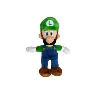 Super Mario Bros. Wii Plush   Luigi Toys & Games