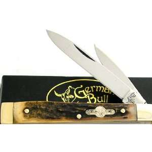 German Bull Knives 103 Doctors Knife with Genuine Stag