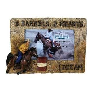 Barrel Racer Horse & Rider Brown Hoodie Clothing