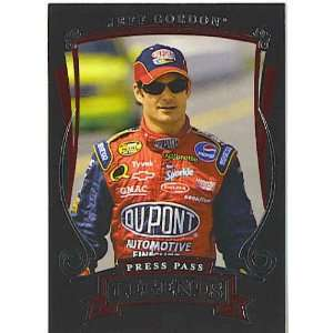 2006 Press Pass Legends 35 Jeff Gordon (NASCAR Racing Cards