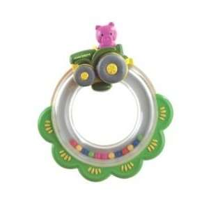 John Deere Tractor Ring Rattle Toys & Games