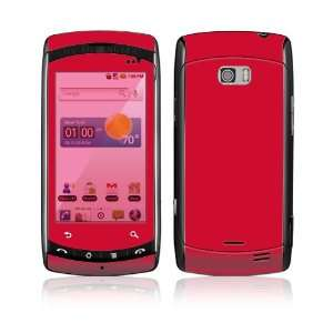 LG Ally VS740 Skin Decal Sticker   Simply Red Everything