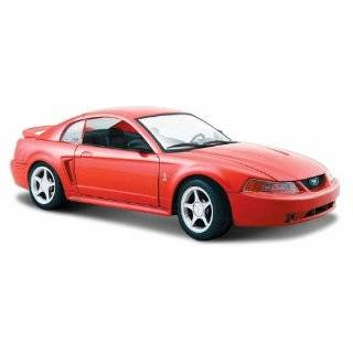 MUSTANG SVT COBRA 118 DIECAST MODEL BLACK  Toys & Games