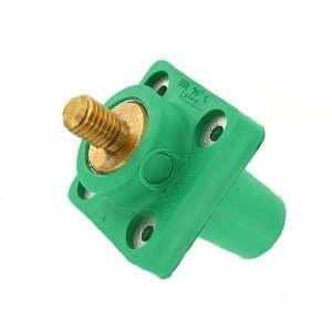 Series Taper Nose, Female, Panel Receptacle, 90 Degree, Threaded Stud