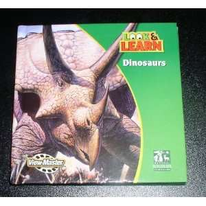 View Master Reels Look & Learn Dinosaurs with Mini Book