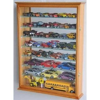 Matchbox / Diecast / Train Display Case Cabinet, Walnut Toys & Games