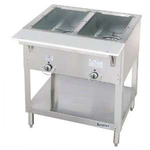 Duke Manufacturing E302 Hot Food Table 2 Well 30 3/8 Length Electric