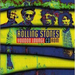 Rolling Stones Voodoo Lounge CD ROM Rolling Stones Books