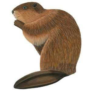 Wild Life Animals Wall Sticker Mural Beaver