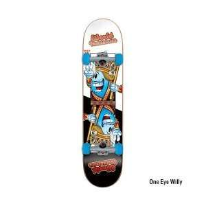 World Industries Character One Eye Willy Mid Skateboard