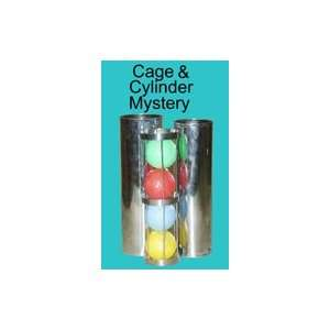 Cage And Cylinder Mystery   General Parlor Magic t Toys & Games