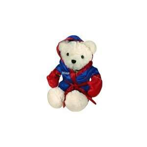Personalized Boxer Teddy Bear   White Toys & Games