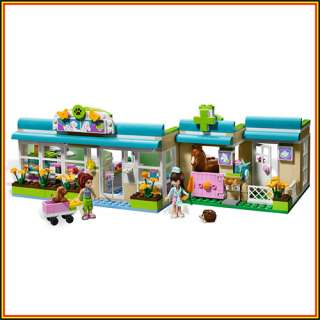 LEGO FRIENDS 3188 Heartlake Vet sets Mia and Sophie 2 minifigures