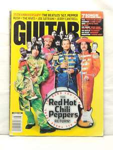 MAGAZINE RED HOT CHILI PEPPERS THE BEATLES SGT. PEPPER JOE SATRIANI