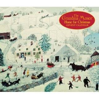 Grandma Moses Advent Calendar Home for Christmas